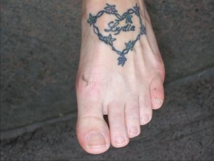 Sara's Foot