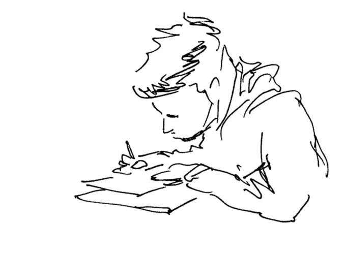 exam sketch