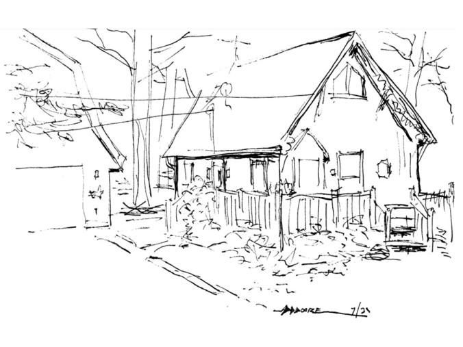Maine Sketch 1