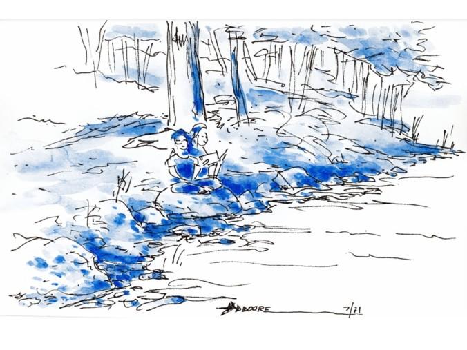 Maine Sketch 2